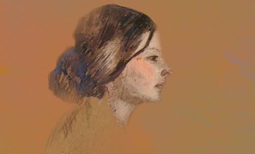 "Las Madeleines escuchando la soleada soledad, descripciones de Henri de Toulouse Lautrec (1889) y Pablo Picasso (1904). • <a style=""font-size:0.8em;"" href=""http://www.flickr.com/photos/30735181@N00/8815712978/"" target=""_blank"">View on Flickr</a>"