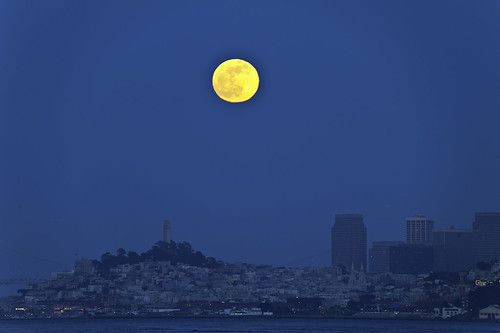 Moon over SF