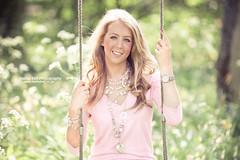 Swing Girl - 2011 (Sasha L'Estrange-Bell) Tags: pink portrait girl spring bokeh swing swinggirl girlonswing sashabell oliviabell sashabellphotography