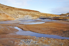 Krsuvk Reykjanes peninsula (RobOutar) Tags: city autumn mountains fall water landscape volcano waterfall iceland october sony rob glacier geyser 2012 outar a55