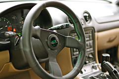 Miata Personal Steering Wheel (chanjustin) Tags: canada cars sports vancouver countryside oak industrial personal wing neo mazda dunbar miata lowered aero apr mx5 slammed marpole roadster mazdaspeed splitter flyinmiata kraftwerks mazdaroadster grinta rotrex clubroadster miatanet roadstersport miataroadster instagram artofstance
