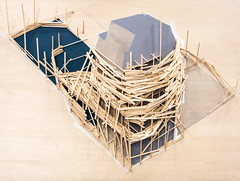 Tadashi Kawamata (b. 1953 Japan): Plan for Beaufort, 2003 (plywood, balsa, acrylic, pencil) / Annely Juda Fine Art / Art Basel Hong Kong 2013 / SML.20130523.6D.13887 (See-ming Lee  SML) Tags: china urban hk art japan architecture cn photography hongkong crazy events fineart photojournalism plan creativecommons balsa     hkg journalism plywood  6d artbasel  canon1740f4l   annelyjuda 2013  ccby seeminglee canonef1740f4lusm canon6d tadashikawamata smlprojects crazyisgood  smlfineart smluniverse canoneos6d smlphotography  annelyjudafineart smlevents abhk SML:Projects=crazyisgood fl2fbp SML:Projects=photojournalism SML:Projects=smlfineart artbaselhongkong2013