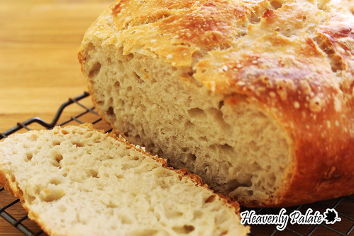 [Homemade Sourdough Bread] Easy Lazy bread with Heavenly Bready Aroma
