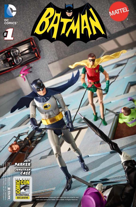 1966年經典電視劇版蝙蝠俠&羅賓 雙人組!