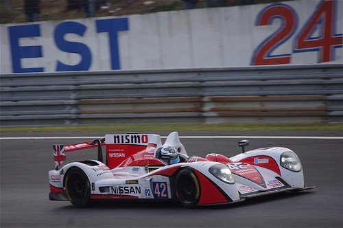 Michael Krumm - Greaves Motorsport's Zytek Z11SN Nissan Driven by Michael Krumm, Jann Mardenborough and Lucas Ordonez