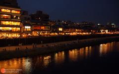 夜晚的鸭川