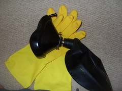 SDC11617 (chloebrooks593) Tags: rubber gloves anaesthetic crossdresser anesthesia