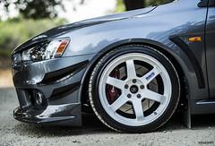 Evo (Brian Bassard) Tags: auto sanfrancisco california car oakland review automotive evox castrovalley mitsubishi evo evo9 evoix hellaflush evoten