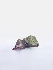 Stone (Sara_Bernuy) Tags: ocean blue sea stone mar photo spain paisaje isla islote oceano d800 piedra abismo