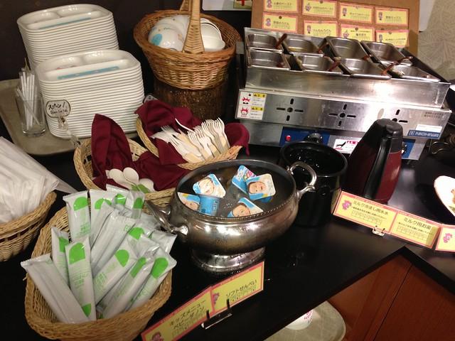 朝食のバイキング「キッズコーナー」の一部。|ホテルグリーンプラザ軽井沢