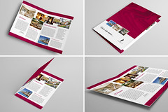 Bi-Fold Brochure 18 (Demorfoza) Tags: ranch night print hotel design three graphic sleep room motel fold rent tri leaflet brochure vacancy let template pamphlet trifold threefold trifolder