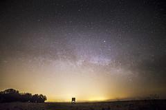 Bradwell Milky Way (jordanwhipps1987) Tags: beach church stars landscape coast chapel astrophotography astronomy essex constellations milkyway bradwellonsea stpeteronthewall darsky