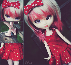 Cutie Girl ♥ (~~☆ Oshua☆~~) Tags: nikon doll collection wig pullip custom custo poupée stica d3000