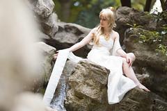 Magic Knight Rayearth - Presea (e.wiggin) Tags: white forest clamp waterfall cosplay magic knight rayearth presea