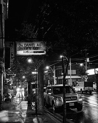 One or Two Doctors on Dundas (sevres-babylone) Tags: toronto rain sign night doctor omd 25mm physician dundasstreet em5 surgeongone 131007011634efexcr72600