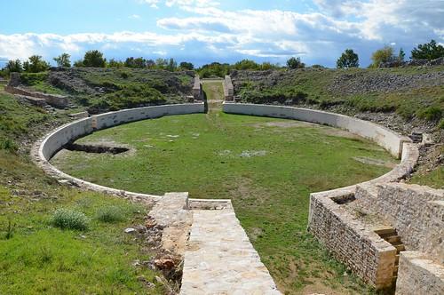 Amphitheatre, Burnum legionary camp, Dalmatia