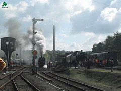 15/9/2013 BR 38 en el Museo del Ferrocarril de Bochum (DabidGuty) Tags: deutschland steam alemania deutschebahn bochum vapor dampflok dampflokomotive dampf eisenbahnmuseum