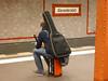 Waiting on the platform (Sallyrango) Tags: street city urban musician berlin station underground subway waiting metro platform u ubahn alexanderplatz bahn waitingforthetrain
