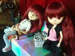 Yoshi & Susumi Nakano (Planning) (Lunalila1) Tags: outfit doll track handmade 8 wig shade nakano groove pullip yoshi kuro vi susumi taeyang junplaning skupe stica