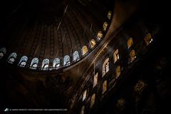 Hagia Sophia, Istanbul (sabino.parente) Tags: light church turkey cathedral islam istanbul mosque unesco rays hagiasophia santasofia ayasopya sabinoparente fujixe1