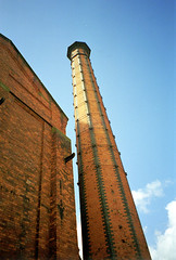Belfast Gasworks - Chimney
