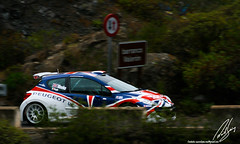 Iniciando la subida (Ral Surez) Tags: test rally canarias kris irc islas peugeot s2000 2010 207 meeke