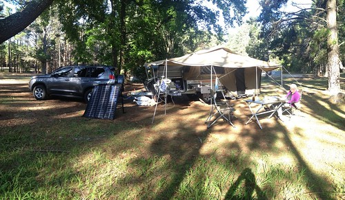 Camping at Wingello state forest