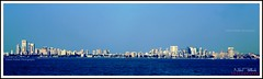 IMG_2789 (nikhil pathak) Tags: blue sea sky building architecture seaside mumbai seaface