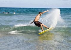 boca17 (David Behar) Tags: ocean west beach sports water dave scott pier surf fort surfing stuart palm lauderdale deerfield jupiter skimboarding boarding jensen juno skim boynton skimboard commercal
