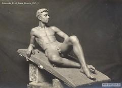 Edmondo Prati Brera Bronzo 1925 1