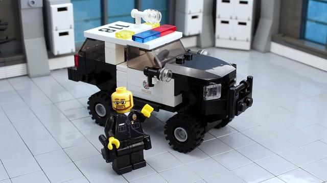lego offroad 4x4 police legos lapd liftkit chevysuburban k3500 legopolice policesuv policesuburban brickpolice