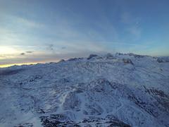 sunrise up in the mountains (magrolino) Tags: winter 3 snow mountains alps austria glacier berge hero hd alpen phantom dachstein krippenstein upperaustria dji 2013 gopro hero3