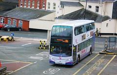 33664 - First Devon and Cornwall - SN12AEF (lazy south's travels) Tags: uk 2 england bus floor britain low plymouth first double deck devon 400 alexander dennis enviro trident decker adl firstgroup sn12aef