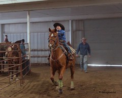 Bar None Jr Rodeo (Garagewerks) Tags: boy horse male sport youth bar turn cowboy all none sony barrel sigma indoor jr racing arena burn rodeo cans cowgirl athlete f28 equine 2875mm views100 slta65v