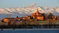 Monviso and the old village (rinogas) Tags: old italy village piemonte cuneo salza monviso marene alpicozie rinogas mygearandme