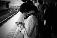 stationportgraphy (JohanAndo) Tags: portrait bw station japan tokyo snap tokyostation a700 minoltaaf3570f4