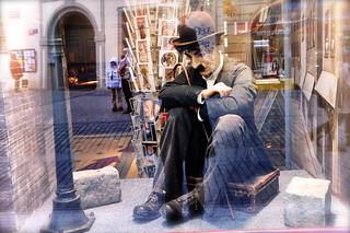 Charlie Chaplin ....à Prague