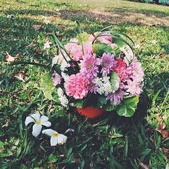 Class 2 : การจัดดอกไม้ทรงกลม   #flowerarrangementbynaphat