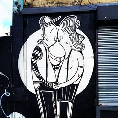 Embrace #Shoreditch #StreetArt