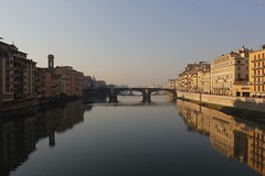 The light and the dark side (Elisabetta.9.5.) Tags: sky water glass river florence amazing view fiume firenze arno