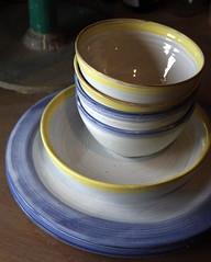 2eme four d'mail (Viou) Tags: vert bleu terre pottery argile poterie potery annev viou httppoteriesimdifcom poterie66 poteriecastelnou