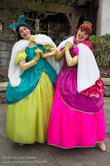 DLP Feb 2014 - The crazy antics of Anastasia and Drizella (PeterPanFan) Tags: travel winter vacation france canon europe character disney characters february feb anastasia villains fantasyland disneylandparis dlp 2014 disneylandresortparis disneycharacters disneycharacter marnelavallée parcdisneyland disneyparks drizella canoneos5dmarkiii disneylandparispark