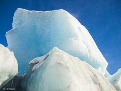 Mendenhall Glacier breaking up ( Gillfoto) Tags: blue snow ice alaska iceage frozen melting bluesky glacier mendenhallglacier juneau northern chunk climatechange timeless mendenhall icecave