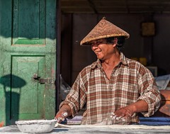 The Happy Baker (Chris Willis 10) Tags: baker burma myanmar kalaw