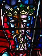 Oundle School Chapel, Northamptonshire (Sheepdog Rex) Tags: stainedglass greenman oundleschoolchapel