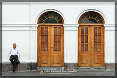 Quito - Ecuador (David Simchock Photography) Tags: door people architecture facade photography photo quito ecuador nikon exterior image watermark vagabondvistas davidsimchock davidsimchockphotography vagabondvistasphototours davidsimchockfineart