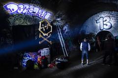 13 (-J.R.-) Tags: light party urban lightpainting paris dark underground dj noir decay exploring under creepy explore sombre electro cave soire catacombs exploration derelict souterrain abandonned catacombes urbex freeparty deepdown abandonnement
