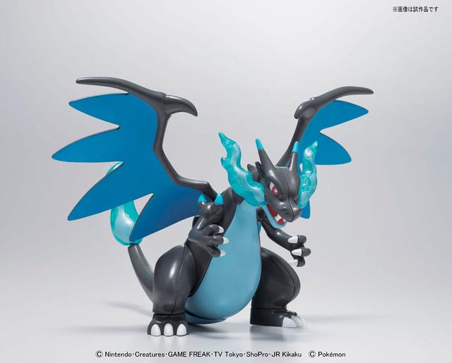 BANDAI 神奇寶貝 Mega Charizard X 模型