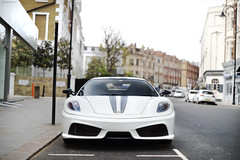 Scuderia (tWm.) Tags: white london car nikon thomas super ferrari mein scuderia supercar v8 430
