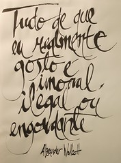 _DSC4102 (Ivan Jerônimo) Tags: brazil handwriting brazilian lettering alexander calligraphy sumi portuguese mão caligrafia nanquim escrita 書道 ブラジル 手書き 西洋 wollcot